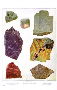 Gems and gem minerals (1903). Oliver C. Farrington. Scan of 2 d images in the public domain believed to be free to use without restriction in the US.