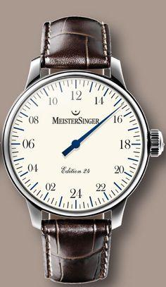 MeisterSinger - 24 Hour Watch AM24B03
