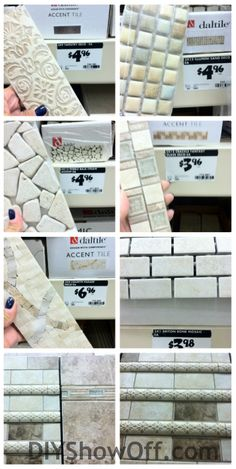 Daltile Atmospheres Tile Accents Collection