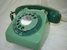 1963 Two-tone Green GPO Telephone 706