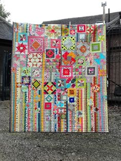 Such awesome inspiration for UFO Blocks and Scrap fabric  pieces. Lily's Quilts: The Gypsy Wife BOM