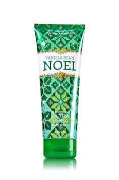 VANILLA BEAN NOEL - 24 Hour Moisture Ultra Shea Body Cream - Bath & Body Works - Infused with luxuriously rich Shea Butter, our New Ultra Shea Body Cream provides 24 hours of nourishing moisture to soften even the driest skin. With soothing Aloe Butter, pampering Cocoa Butter and more Shea than ever before, our non-greasy formula melts into skin to provide beautiful fragrance and all day, all night hydration.