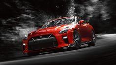 GT-R<sup>MD</sup> Premium Edition de Nissan, couleur rouge solide