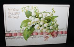 a lovely Birthday card for the month of May