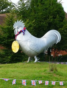 DORKING SURREY UK. GOLD MEDAL FOR THE BIG COCKEREL IN DORKING | par RAZEL DAZEL JOHN MORGAN
