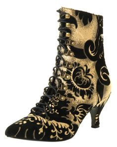 Steampunk Boots | steampunk ankle boots-victorian