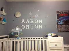 Aaron's finished room