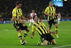 UEFA Champions League Group D Borussia Dortmund vs Ajax Amsterdam 1-0 -- Lewandowski