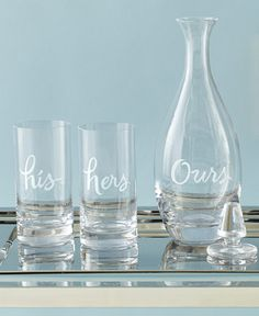 A registry pick designed to share, Kate Spade barware