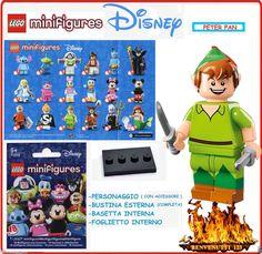 LEGO MINIFIGURES , PETER PAN ,MINIFIGURE ,MINI FIGURE DISNEY ! SERIES DISNEY !