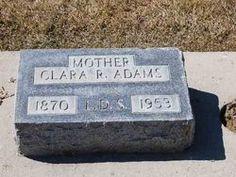Clara Rosetta Allred Adams