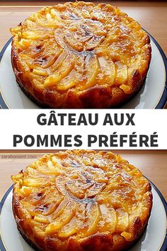 Favorite apple cake recipe - Pastry World Strawberry Dessert Recipes, Apple Dessert Recipes, Homemade Cake Recipes, Pound Cake Recipes, Blue Desserts, No Cook Desserts, Croissant, New Years Eve Dessert, Almond Cakes