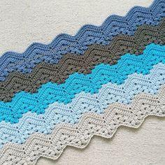 It must be boy season! Baby Blanket Crochet, Crochet Baby, Crochet Projects, Chevron, Crochet Patterns, Seasons, Baby Blankets, Afghans, Instagram Posts