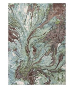 Take a look at this Seafoam Watercolors Area Rug today!
