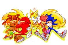 Sonic And Amy, Sonic Boom, Hedgehog Art, Sonic The Hedgehog, Sonic Funny, The Darkling, Sonic Franchise, Sonic Heroes, Sonic Fan Art
