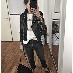 Ressortir les Miu Miu ✨ • Jacket #isabelmarant (from @lagrandeboutiquelgb) • Top #magalipascal (from @magalipascal) • Jean #redone (on @shopredone) • Shoes #miumiu (old) ...
