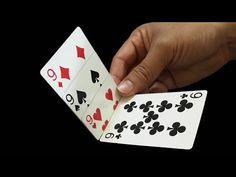 Magic Tricks For Beginners, Magic Tricks Videos, Magic Card Tricks, Magic Cards, Easy Magic, Tours, Playing Cards, Youtube, Fishing Knots