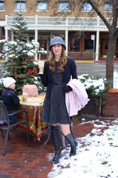 winter outfit : DressesAndDenim.com