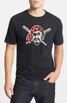 a11e72e3384cc Men s Red Jacket  Pittsburgh Pirates - Deadringer  Trim Fit T-Shirt Dead  Ringers