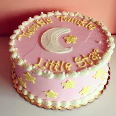 Twinkle Twinkle Little Star Cake by 2tarts Bakery / New Braunfels, Texas / www.2tarts.com