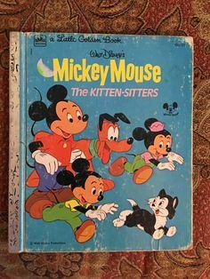 Walt Disney's Mickey Mouse The Kitten-Sitters 1976 PQRST