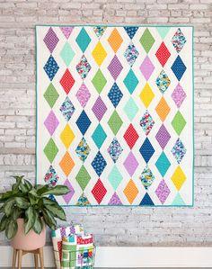 Cascade Quilt Pattern in Hello Jane