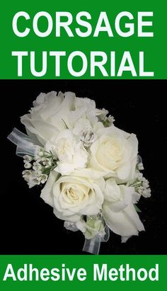Learn how to make your own bridal bouquet, wedding corsages, groom's boutonniere, reception centerpieces and church decorations. Buy wholesale flowers and discount florist supplies Bridal Shower Corsages, Wedding Corsages, Flower Bouquet Wedding, Wax Flowers, Simple Flowers, Beach Wedding Decorations, Church Decorations, Wedding Ideas, Wedding Arrangements