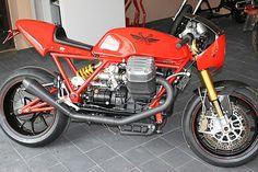 Guzziladen, 1400ccm Californiamotor im Tonti Rahmen Moto Guzzi, Classic Bikes, Cool Bikes, Ducati, Mopeds, Cafe Racers, Motorbikes, Cars And Motorcycles, Centaur