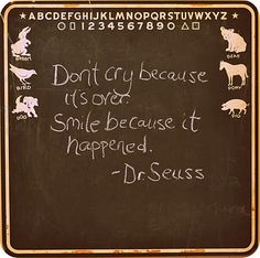 Dr. Suess Quote - I'll need this when he graduates!