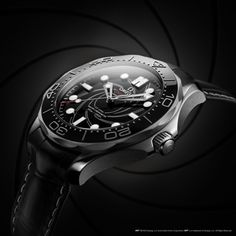 "Platimum Bond: Omega Fêtes ""No Time to Die"" with Seamaster Diver 300M James Bond Edition 