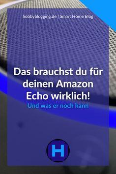 Ich zeige dir in meinem Smart Home Blogbeitrag, was du für den Sprachassistenten Amazon Alexa wirklich brauchst. Und ich zeige dir, welche Abos es für den Echo zusätzlich gibt. Amazon Echo, Radios, Netflix, Smart Home, Movie, Openness, Kustom, Language, Smart House