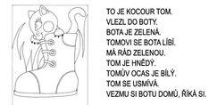 Kocour Tom – první čtení s porozuměním – Dětské stránky Ecards, Comics, Memes, E Cards, Meme, Cartoons, Comic, Comics And Cartoons, Comic Books