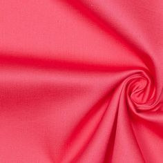 Sugar Coral Stretch Cotton Sateen Fabric by the Yard | Mood Fabrics