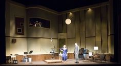 Looped. Lyceum Theater. Scenic design by Adrian W. Jones. 2010