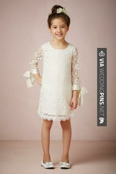 Amazing - Love this bhdln (or whatever) dress for Layla | CHECK OUT MORE GREAT FLOWER GIRL AND RING BEARER PHOTOS AND IDEAS AT WEDDINGPINS.NET | #weddings #wedding #flowergirl #flowergirls #rings #weddingring #ringbearer #ringbearers #weddingphotographer #bachelorparty #events #forweddings #fairytalewedding #fairytaleweddings #romance