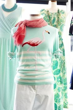 Land's End flamingo sweater--I NEED THIS