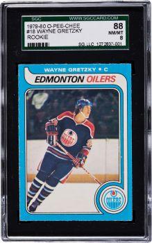 1979 O-Pee-Chee Wayne Gretzky #18 SGC 88 NM/MT 8