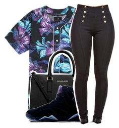 """""""Untitled #399"""" by queen-dope ❤ liked on Polyvore featuring PacSun, MICHAEL Michael Kors and Retrò"""