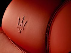 Maserati's Trident on the headrests