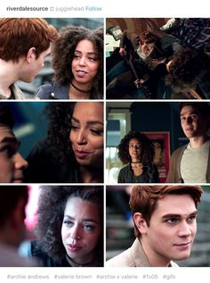 Archie and Valerie— Riverdale