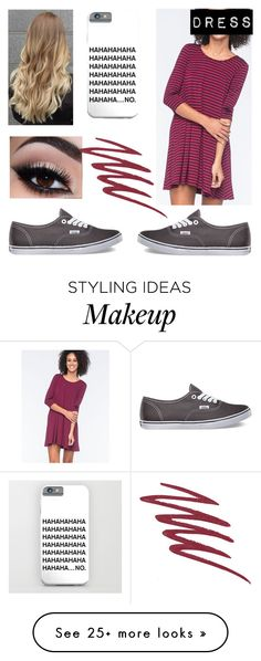 """""""Untitled #26"""" by cenilsen7 on Polyvore featuring Mode, Socialite, Vans, NARS Cosmetics, women's clothing, women, female, woman, misses und juniors"""