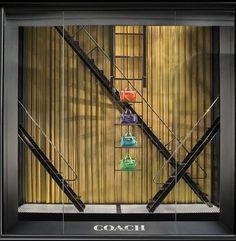 "COACH New York,""FIRE EXIT"", pinned by Ton van der Veer"