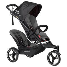 get your phil&teds dot stroller with the double kit included in the box from John Lewis.