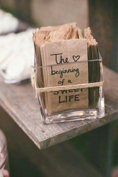 Begin, Wedding Things