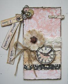 Word dangle card - Scrapbook.com