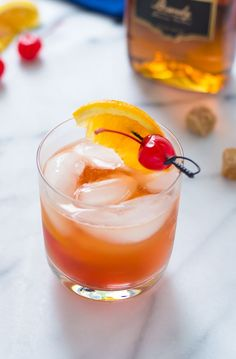Brandy Old Fashioned. A classic cocktail that's a must for any home bartender!