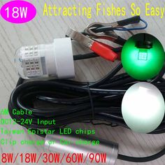 ip68 12v led underwater green fishing light stick submersible, Reel Combo
