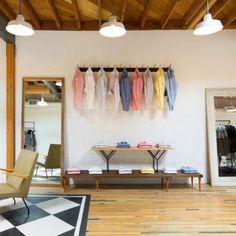 GANT Rugger shop interior,  Venice Beach...