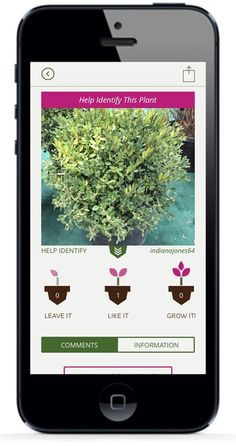Need Help Identifying a Plant? Upload it to GrowIt! and see what the experts think! Available for #FREE on the App Store and Google Play!