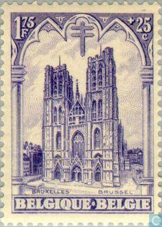 Belgium [BEL] - Cathedrals 1928